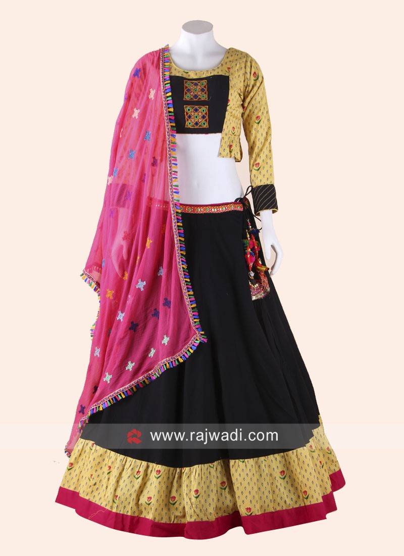 Printed Chaniya Choli for Garba