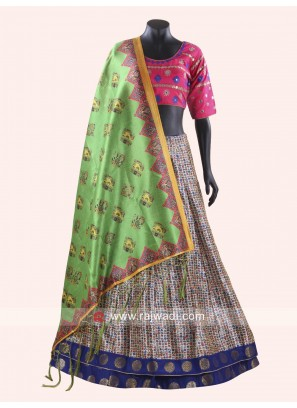 Printed Chaniya Choli for Navratri