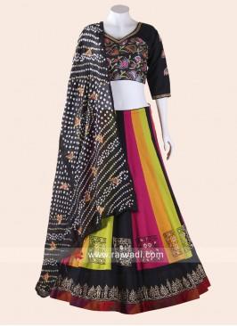 Printed Colorful Navratri Chaniya Choli