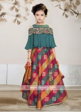 Designer Choli Suit for Kids