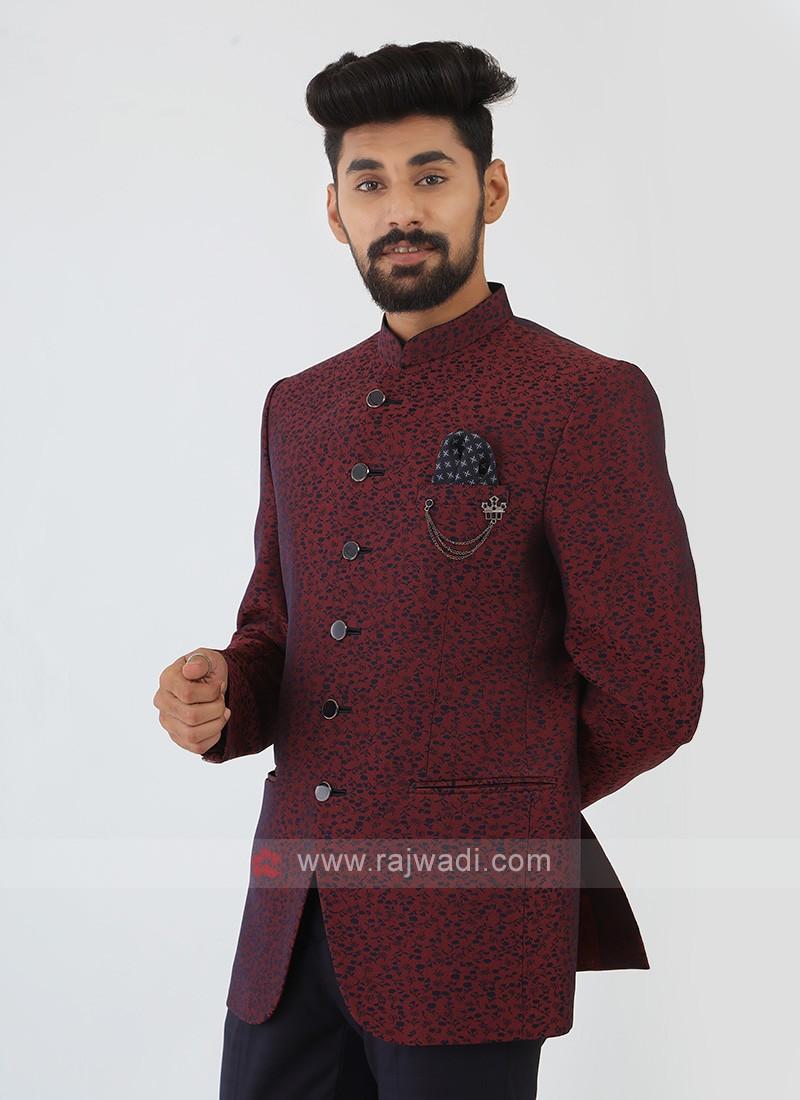 Printed Jodhpuri Suit