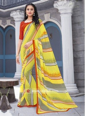 Printed Light Weight Saree