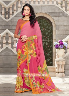 Printed Light Weight Saree