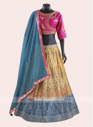 Printed Navratri Chaniya Choli for Women