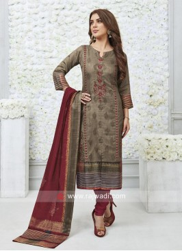 Printed Readymade Salwar Suit
