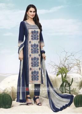 Printed Trouser Salwar Kameez