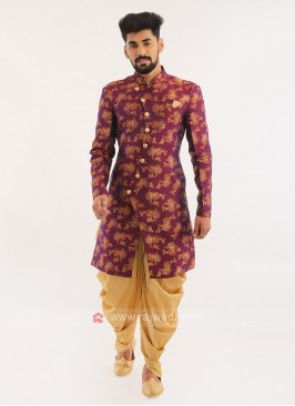 Printed Wedding Wear Indo Western