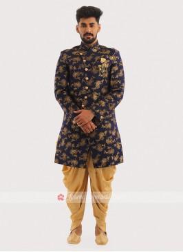 Printed Wedding Wear Indo Western