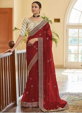Pristine Organza Ceremonial Classic Designer Saree