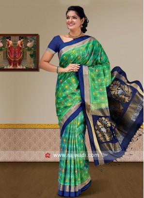Pure Silk Designer Saree