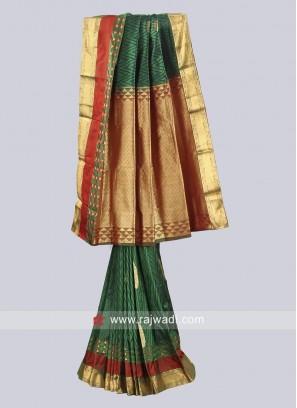 Pure Silk Designer Sari