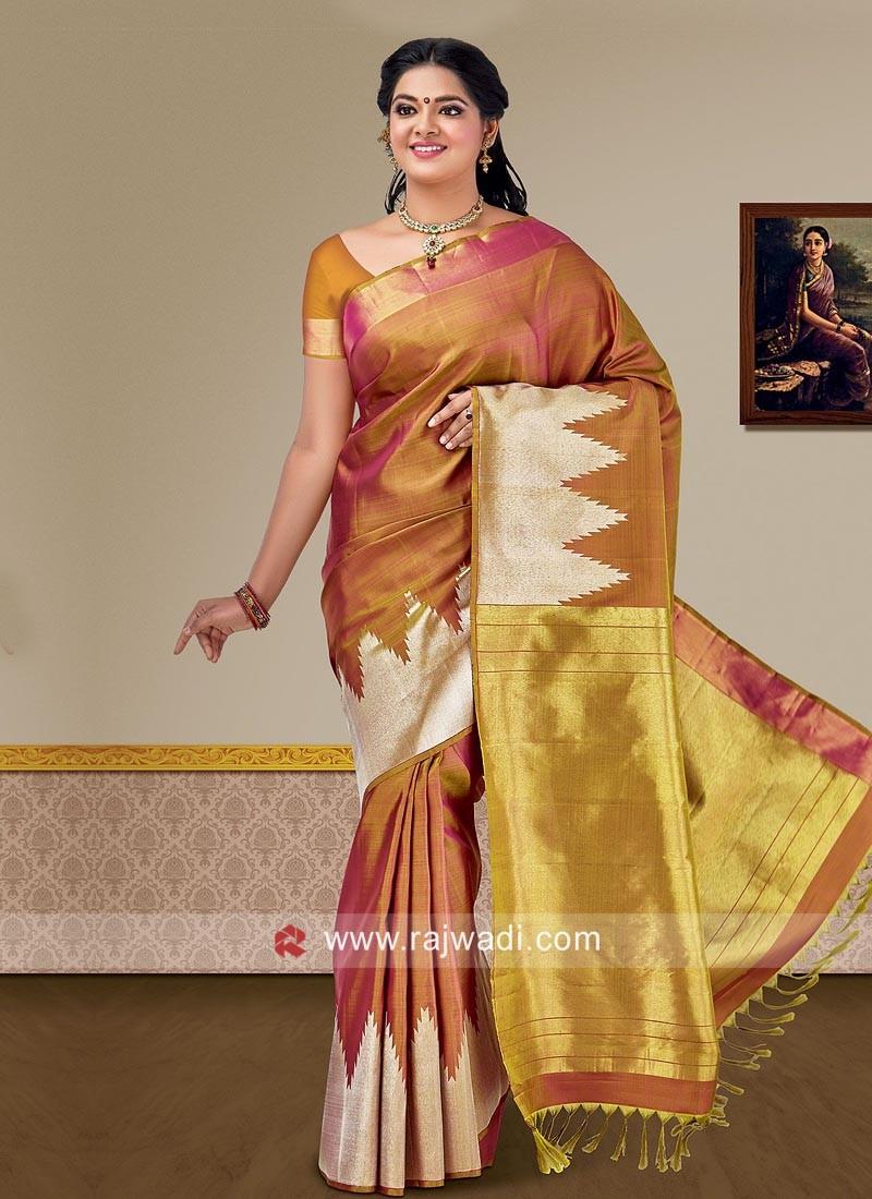Pure Silk Designer Silk Saree