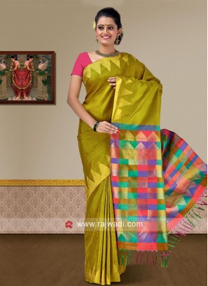 Pure Silk Designer Weaved Saree