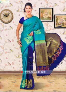 Pure Silk Designer Weaved Saree