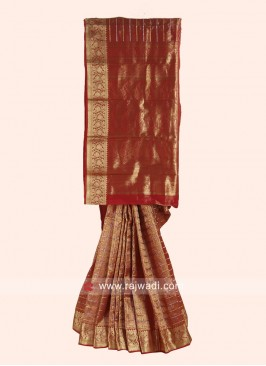Pure Silk Designer Wedding Saree