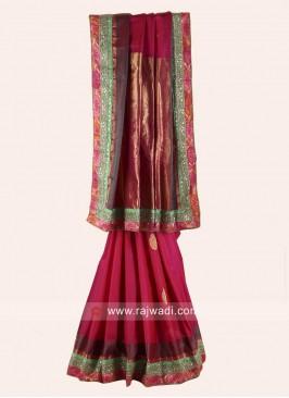 Pure Silk Embroidered Saree