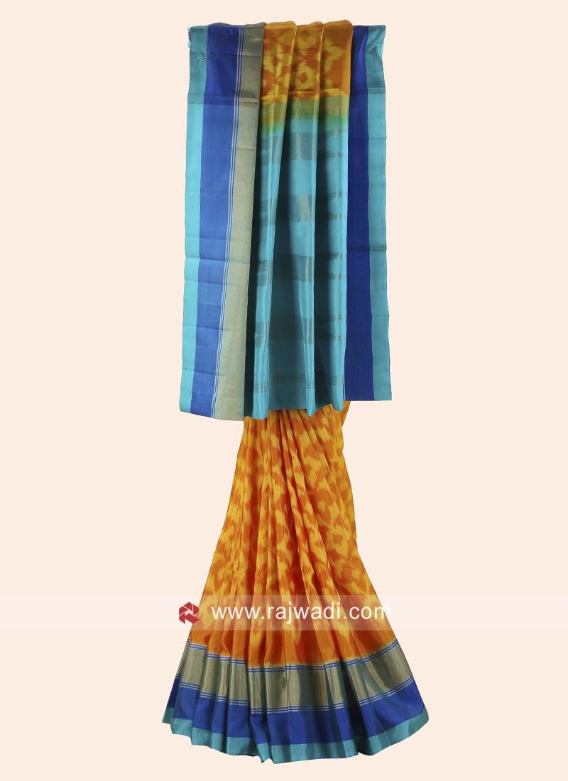 Pure Silk Patola Saree
