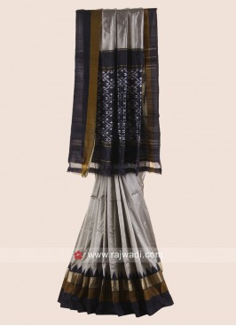Pure Silk Patola Saree with Blouse