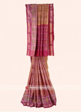 Pure Silk Patola Wedding Saree