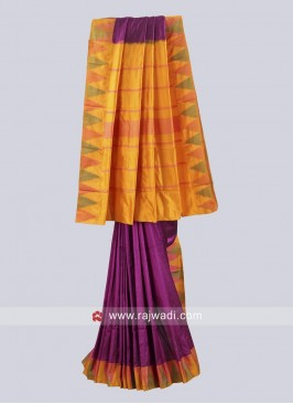 Pure Silk Resham Work Saree