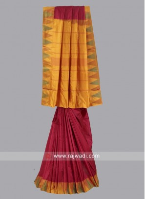 Pure Silk Saree with Border