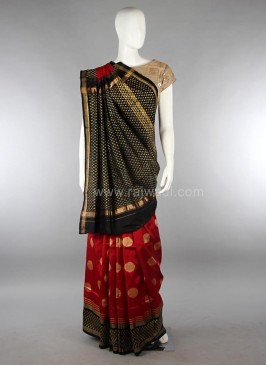Pure Silk Weaved Patola Saree
