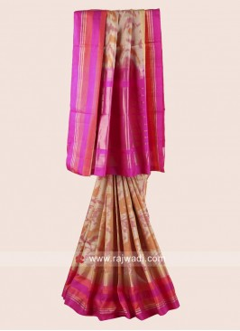 Pure Silk Weaved Saree
