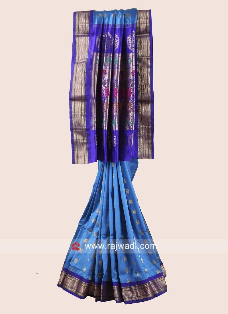 Pure Silk Weaved Saree