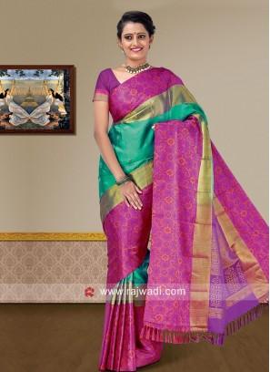Pure Silk Weaving Saree