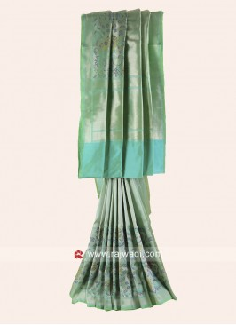 Pure Silk Wedding Designer Saree