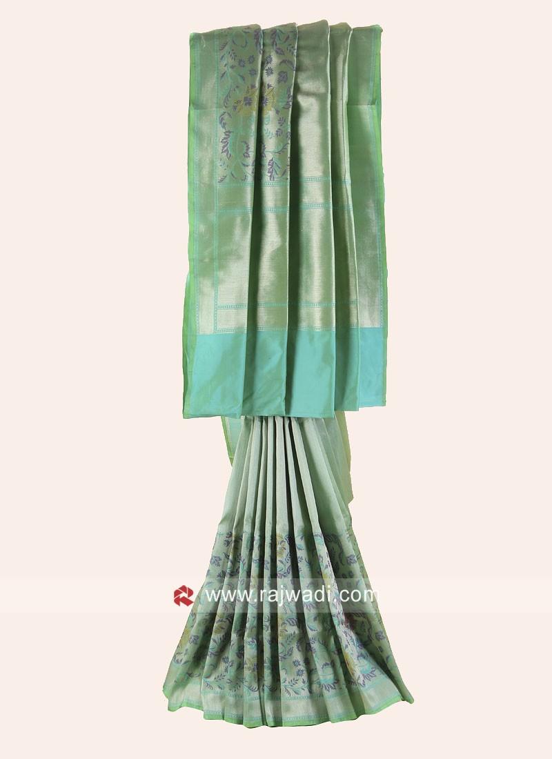 Pure Silk Wedding Designer Saree