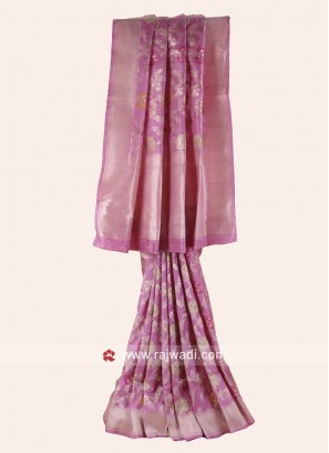 Pure Silk Wedding Reception Saree