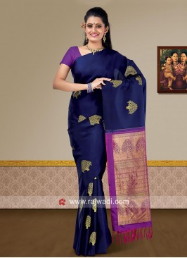 Pure Silk Wedding Saree