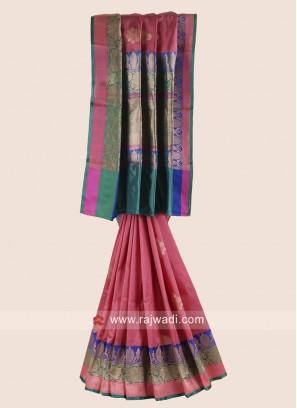 Pure Silk Wedding Saree