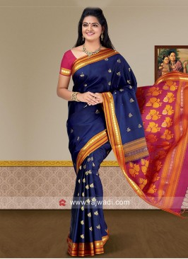 Pure Silk Wedding Weaving Saree