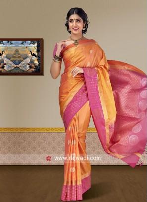 Pure Silk Wedding Woven Saree