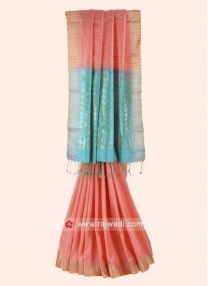 Pure Silk Woven Designer Saree