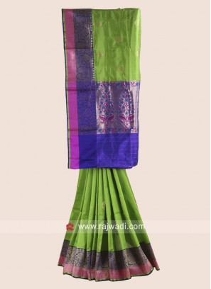 Pure Silk Woven Saree