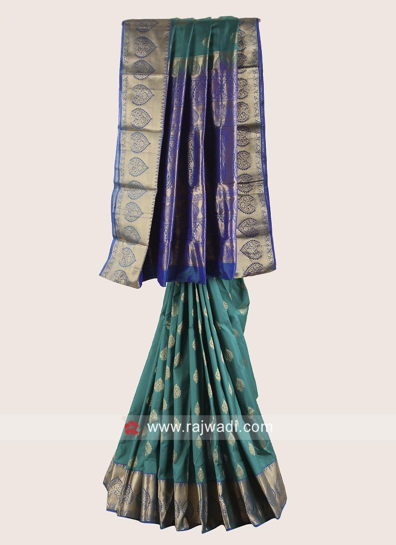 Pure Silk Zari Weaved Saree
