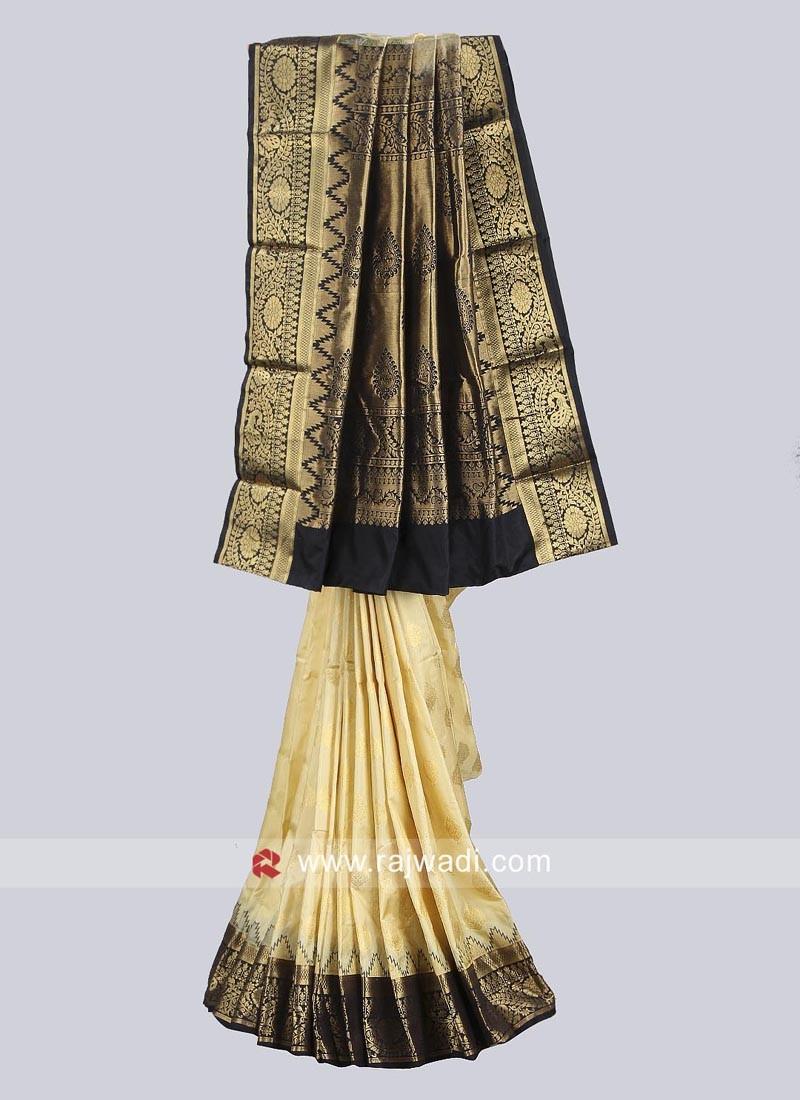 Pure Silk Zari Work Saree