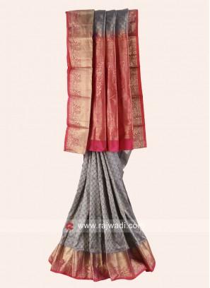 Pure Silk Zari Woven Saree
