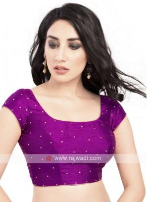 Purple Color Ready Blouse
