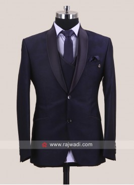 Purple Color Wedding Suit