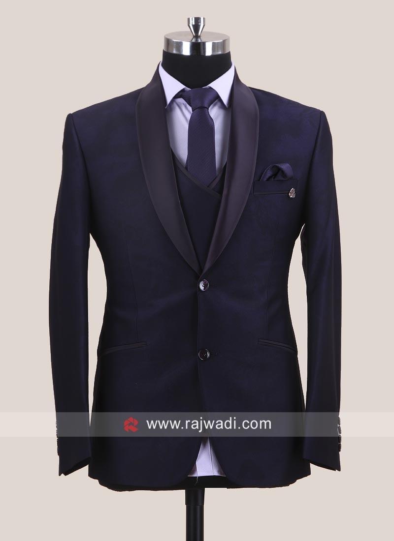 Purple Color Wedding Suit