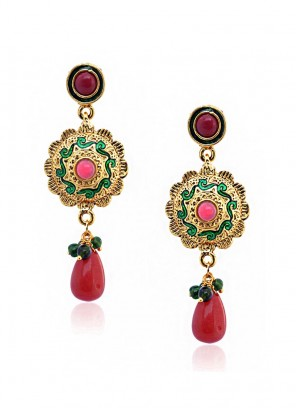 Radiant Flourishing Drop Earring