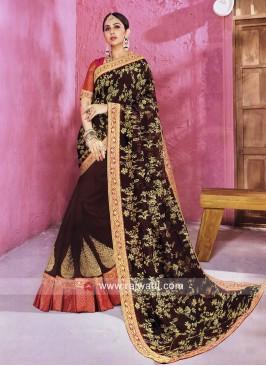 Rakul Preet Singh Art Silk Designer Saree
