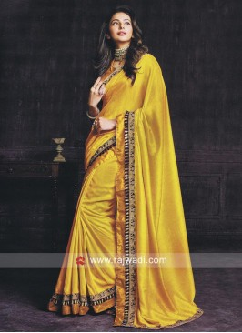 Rakul Preet Singh Art Silk Wedding Saree