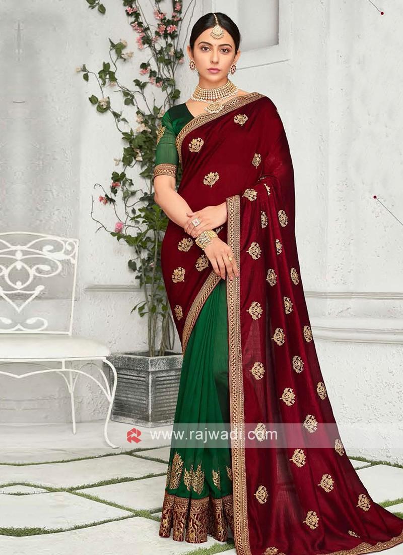Rakul Preet Singh Bollywood Saree
