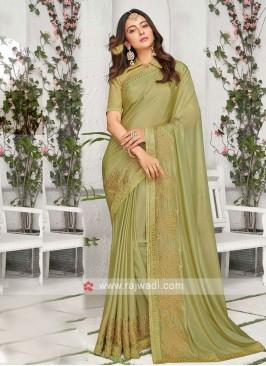 Rakul Preet Singh Chiffon Silk Saree