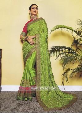 Rakul Preet Singh Embroidered Wedding Saree